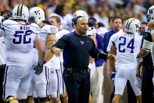 Joel Thomas is Arkansas' running backs coach after spending four years at Washington.