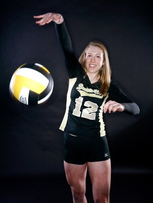 Sabrina Shepherd of Bentonville is the NWA Media All-Big 7 Newcomer of the Year.