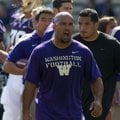 Former Washington running backs coach Joel Thomas will make $235,000 in the same role at Arkansas.