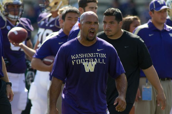 Former Washington running backs coach ...