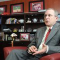 Arkansas Athletic Director Jeff Long (above) had what Arkansas Chancellor Dave Gearhart called Long'...