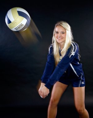 Lauren Brown of Shiloh Christian School was named Small Schools Volleyball Player of the Year.