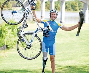 nspirational Paralympics athlete Jeff Glassbrenner was one of our favorite stories of 2012.