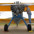 Karl Hines, maintenance officer for the Heart of America Wing for the Commemorative Air Force, adds ...