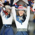 Springdale Har-Ber HIgh School hosts Rogers High School Friday, Oct. 19, 2012, during homecoming at ...