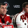 Charlie Partridge, left, and Chris Ash, right, were hired to the Arkansas coaching staff in December...