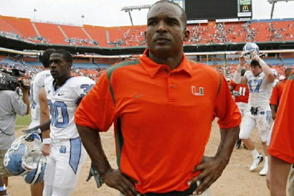 Arkansas added Randy Shannon to Bret Bielema's coaching staff on Sunday, Dec. 30, 2012.