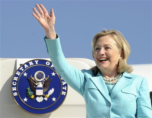 in-this-june-10-2011-file-photo-secretary-of-state-hillary-rodham-clinton-waves-as-the-arrives-at-lusaka-international-airport-in-lusaka-zambia-clinton-has-been-admitted-to-a-new-york-hospital-after-the-discovery-of-a-blood-clot-stemming-from-the-concussion-she-sustained-earlier-this-month-spokesman-philippe-reines-says-her-doctors-discovered-the-clot-during-a-follow-up-exam-sunday