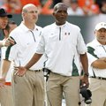Arkansas hired former Miami head coach Randy Shannon away from TCU to become the Razorbacks' linebac...
