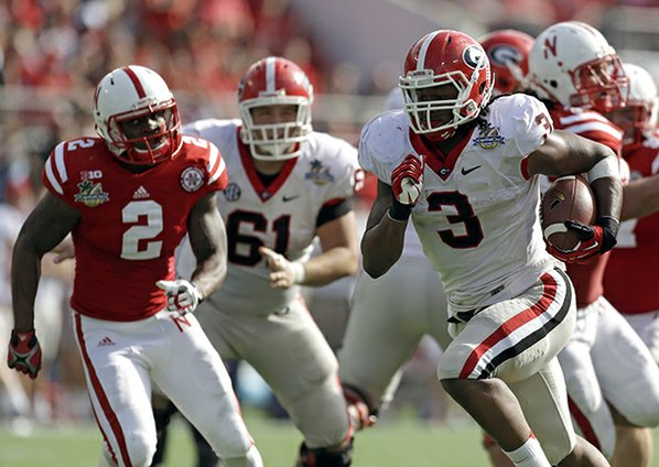 Georgia running back Todd Gurley ...