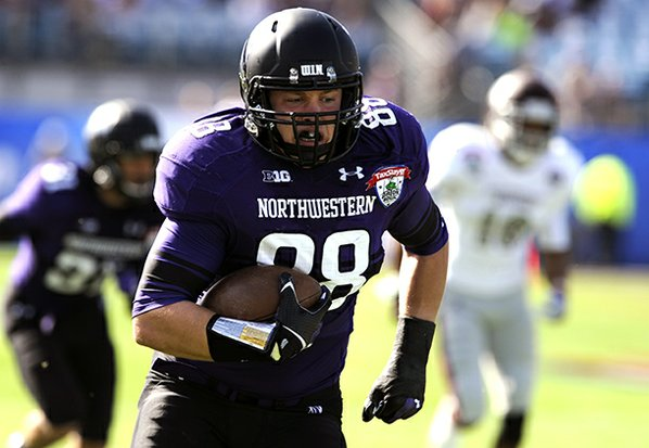 Northwestern defensive lineman Quentin Williams ...