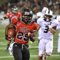 Arkansas State running back David Oku (25) still remembers a fumble against Louisiana-Lafayette in O...