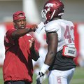 Taver Johnson, who coached Arkansas' linebackers in 2012, will coach cornerbacks next season.