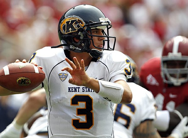 Kent State quarterback Spencer Keith ...