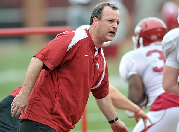 Tim Horton works with Arkansas' ...