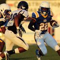 North Little Rock running back Altee Tenpenny (22), who is orally committed to Alabama but plans to ...