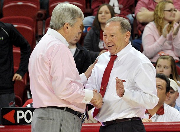 its-a-grind-in-the-sec-arkansas-womens-coach-tom-collen-right-shown-with-texas-am-coach-gary-blair-said-monday-at-the-downtown-tip-off-club