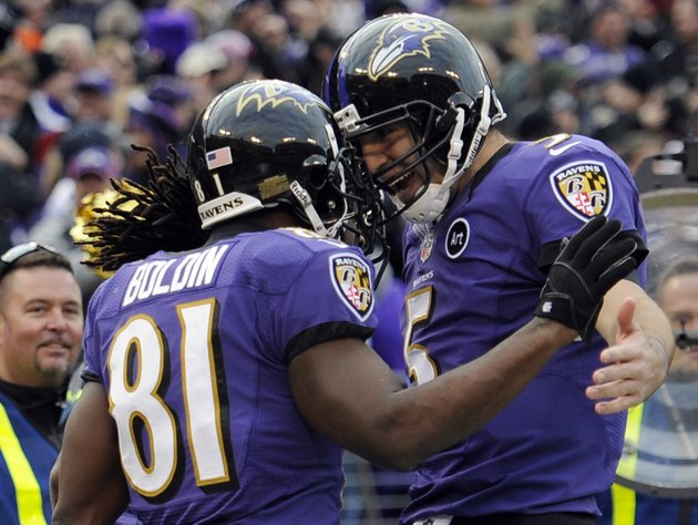 baltimore-ravens-wide-receiver-anquan-boldin-81-celebrates-his-touchdown-catch-with-quarterback-joe-flacco-5-during-the-second-half-of-an-nfl-wild-card-playoff-football-game-against-the-indianapolis-colts-sunday-jan-6-2013-in-baltimore