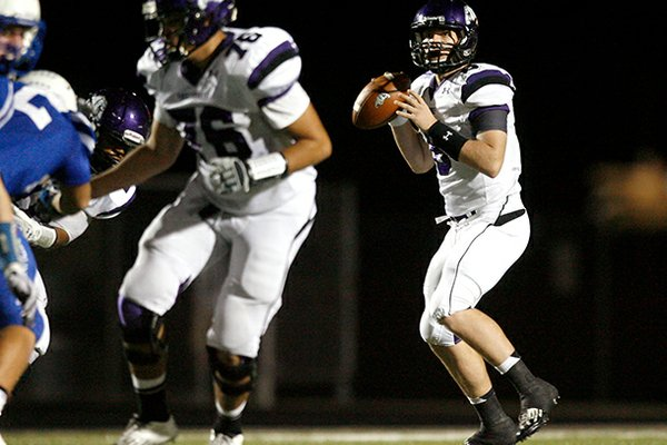 Fayetteville quarterback Austin Allen was named Arkansas Gatorade Player of the Year as a senior.