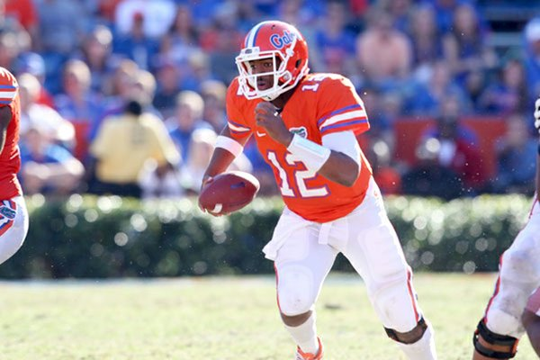 Quarterback Jacoby Brissett has announced his decision to transfer from Florida, and Arkansas is one of his potential landing spots, according to the Palm Beach Post in West Palm Beach, Fla.