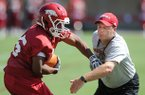 Tim Horton said he is thankful for the relationships he built during six seasons as Arkansas' running backs coach.