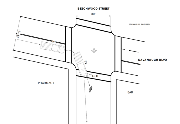 this-diagram-from-a-little-rock-police-department-report-shows-how-a-hit-and-run-pedestrian-accident-in-hillcrest-occurred