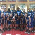 The Fayetteville Woodland Cowgirls won the championship of the Kenny Whitson Memorial Tournament in ...