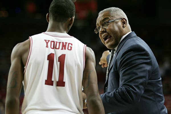 Arkansas assistant coach Melvin Watkins spent seven seasons as head coach at Texas A&M.
