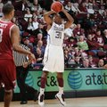 Texas A&M guard Elston Turner (31) takes a jump shot in a Southeastern Conference game against Arkan...
