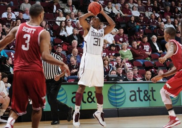 texas-am-guard-elston-turner-31-takes-a-jump-shot-in-a-southeastern-conference-game-against-arkansas-wednesday-jan-9-2013-at-reed-arena-in-college-station-texas-turner-finished-with-15-points-and-the-aggies-won-69-51