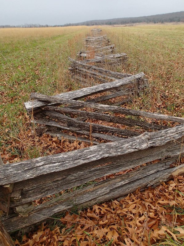 Split-rail fences add to the ...
