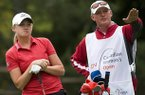 Stacy Lewis, who won the LPGA's Rolex Player of the Year in 2012, is one of this year's inductees into the Arkansas Sports Hall of Fame.