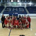 The Fayetteville Ramay Lady Indians won the Greenwood Tournament championhip. Team members are, from...