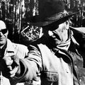 "Arkansas native Charles Portis, author of the novel ""True Grit,"" met John Wayne on the set of the 19..."