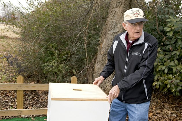 allan-isom-of-searcy-talks-about-taking-care-of-a-beehive-and-the-benefits-of-keeping-bees-by-teaching-a-class-on-the-topic-in-february-isom-hopes-to-encourage-young-people-to-begin-beekeeping