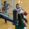 Hattie Collins, top right, of Springdale Har-Ber drives past defenders from Van Buren on Friday duri...