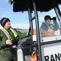 Donna Bryant, left, (above) and Alan Bland, park rangers with the Army Corps of Engineers at Beaver ...