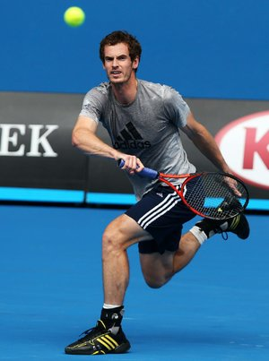 Britain's Andy Murray has to face two big obstacles to win a second major title in next week's Australian Open — Novak Djokovic, seeking his third consecutive title and four-time winner Roger Federer.