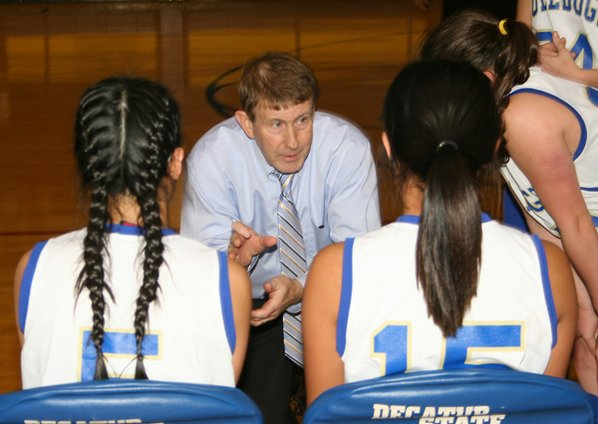 Bill Niven, Decatur girls basketball ...