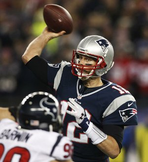 New England quarterback Tom Brady will lead the Patriots in their second consecutive AFC Championship Game next Sunday against the Baltimore Ravens.