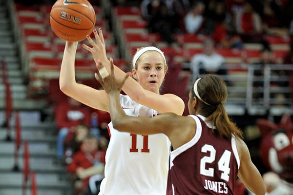 Calli Berna is seeing increased playing time as a sophomore.