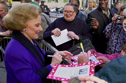 in-this-feb-14-2001-file-photo-dear-abby-advice-columnist-pauline-friedman-phillips-82-known-to-millions-of-readers-as-abigail-van-buren-signs-autographs-for-some-of-dozens-of-fans-after-the-dedication-of-a-dear-abby-star-on-the-hollywood-walk-of-fame-in-los-angeles-phillips-who-had-alzheimers-disease-died-wednesday-jan-16-2013-she-was-94-phillips-column-competed-for-decades-with-the-advice-column-of-ann-landers-written-by-her-twin-sister-esther-friedman-lederer-their-relationship-was-stormy-in-their-early-adult-years-but-later-they-regained-the-close-relationship-they-had-growing-up-in-sioux-city-iowa-the-two-columns-differed-in-style-ann-landers-responded-to-questioners-with-homey-detailed-advice-abbys-replies-were-often-flippant-one-liners