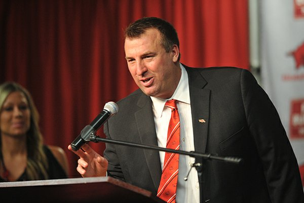Bret Bielema completed his nine-man coaching staff on Thursday, hiring Kansas State receivers coach Michael Smith.