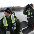 Donna Bryant, left, and Alan Bland, park rangers with the U.S. Army Corps of Engineers at Beaver Lak...