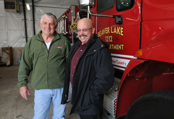 Jerry Owen, left, is retiring ...