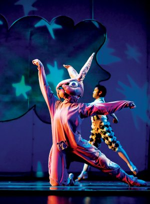 "ODC/Dance will perform ""The Velveteen Rabbit"" on Saturday at the Walton Arts Center."