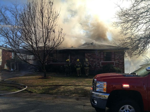 firefighters-respond-friday-jan-18-2013-to-a-house-blaze-at-52nd-and-schaer-streets-in-north-little-rock