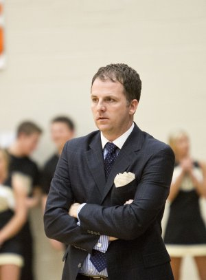 Jason McMahan, Bentonville's head basketball coach, will coach in his first game in Siloam Springs since leaving the school in 2009.