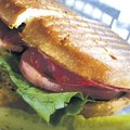 The Tanglewood Branch club sandwich is one of the popular panini-grilled menu options. In addition t...