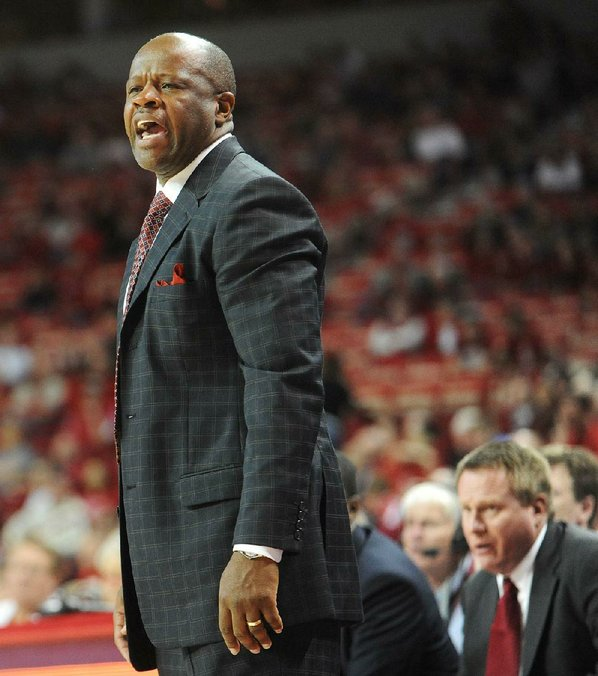 Arkansas Coach Mike Anderson will ...